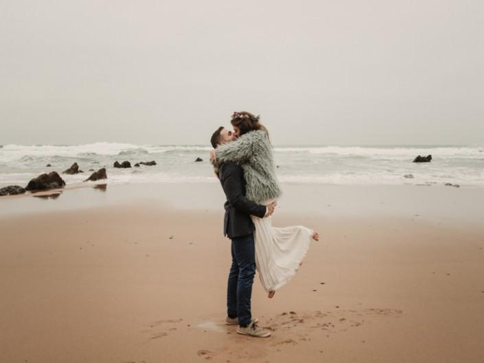 Zaida & Igor | Playa de Barrika Elopment