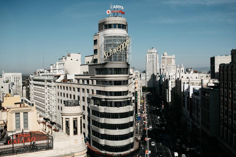Boda en azotea de Madrid